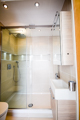 Modern shower bathroom installation Islington N1, N7 contemporary bathrooms and showers London